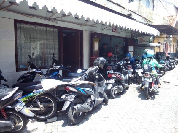 usaha penitipan sepeda motor